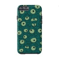 Green Googly Eyes - double-duty-phone-case - small view