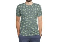 Green Googly Eyes - mens-sublimated-triblend-tee - small view
