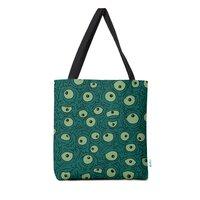 Green Googly Eyes - tote-bag - small view