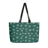 Green Googly Eyes - weekender-tote - small view
