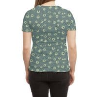 Green Googly Eyes - womens-sublimated-triblend-tee - small view