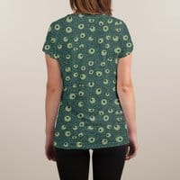 Green Googly Eyes - womens-sublimated-v-neck - small view