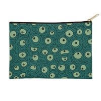 Green Googly Eyes - zip-pouch - small view
