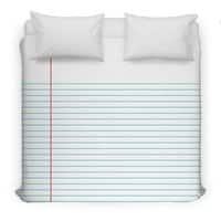 Foot Loose Leaf - duvet-cover - small view