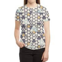Oregon - womens-sublimated-triblend-tee - small view
