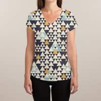 Oregon - womens-sublimated-v-neck - small view