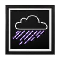 Purple Rain - black-square-framed-print - small view