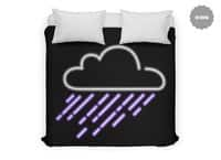 Purple Rain - duvet-cover - small view