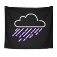 Purple Rain - indoor-wall-tapestry - small view