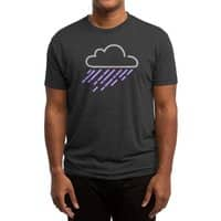 Purple Rain - mens-triblend-tee - small view