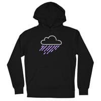 Purple Rain - unisex-lightweight-pullover-hoody - small view