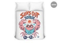 Sun's Out Guns Out - duvet-cover - small view