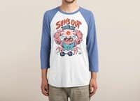 Sun's Out Guns Out - triblend-34-sleeve-raglan-tee - small view