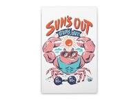 Sun's Out Guns Out - vertical-stretched-canvas - small view