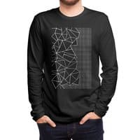 Ab Outline Grid on Side Black - mens-long-sleeve-tee - small view