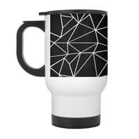 Ab Outline Grid on Side Black - travel-mug-with-handle - small view