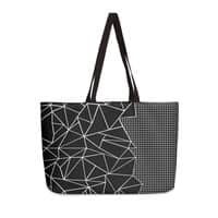 Ab Outline Grid on Side Black - weekender-tote - small view