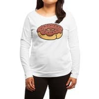Donut Butt - womens-long-sleeve-terry-scoop - small view