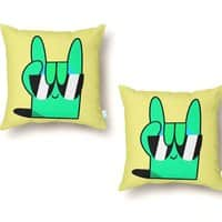 Stay Cool - throw-pillow - small view