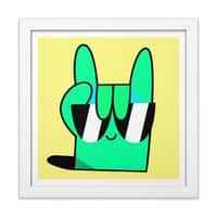 Stay Cool - white-square-framed-print - small view