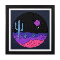 Violet Stone - black-square-framed-print - small view