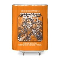 Future Bones - shower-curtain - small view
