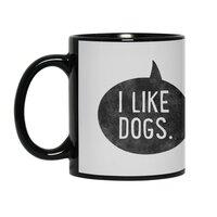 I Like Dogs - black-mug - small view