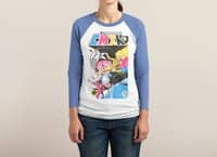 CMYK Squad - triblend-34-sleeve-raglan-tee - small view