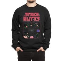 Space Butts - crew-sweatshirt - small view