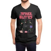 Space Butts - vneck - small view