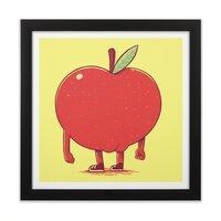 Apple Bottom - black-square-framed-print - small view