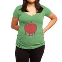 Apple Bottom - womens-deep-v-neck - small view