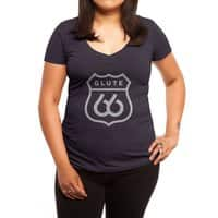 Get Your Kicks - womens-deep-v-neck - small view
