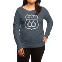 Get Your Kicks - womens-long-sleeve-terry-scoop - small view