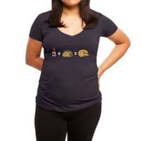 Butt Sauce!  - womens-deep-v-neck - small view