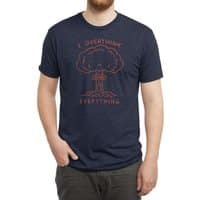 Overthink - mens-triblend-tee - small view