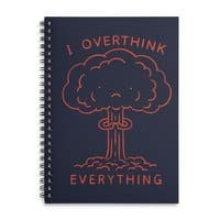 Overthink - spiral-notebook - small view