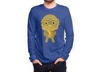 Creature of the black lagoon - mens-long-sleeve-tee - small view