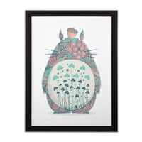 Unexpected Encounter - black-vertical-framed-print - small view