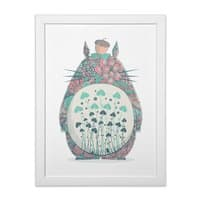 Unexpected Encounter - white-vertical-framed-print - small view
