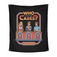 Who Cares? - indoor-wall-tapestry-vertical - small view