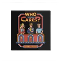 Who Cares? - square-mounted-aluminum-print - small view