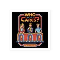 Who Cares? - square-print - small view