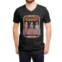 Who Cares? - vneck - small view