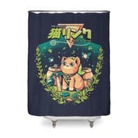 A Kitty to the past - shower-curtain - small view