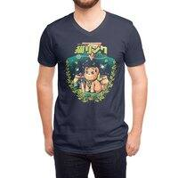 A Kitty to the past - vneck - small view