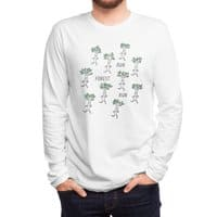 Run Forest Run - mens-long-sleeve-tee - small view