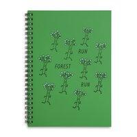 Run Forest Run - spiral-notebook - small view