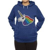 Team Rainbow Unicorn - hoody - small view