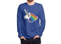 Team Rainbow Unicorn - mens-long-sleeve-tee - small view
